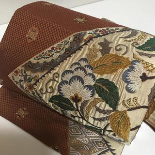 10-86 西陣織 袋帯 お洒落(帯)