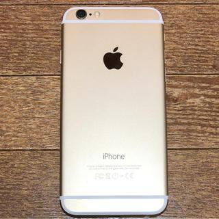 アップル(Apple)のiPhone 6 Gold 64 GB Softbank(スマートフォン本体)