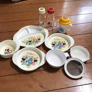 ディズニー(Disney)のベビー食器★哺乳瓶☆マグマグ☆離乳食用(哺乳ビン)