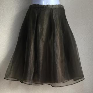 ミラオーウェン(Mila Owen)のミラオーウェン  チュールスカート (ひざ丈スカート)