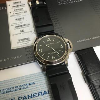 オフィチーネパネライ(OFFICINE PANERAI)の【美品】パネライ ルミノール ベース PAM00112(腕時計(アナログ))