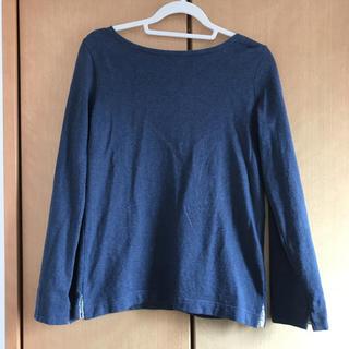 ムジルシリョウヒン(MUJI (無印良品))の無印良品ボートネックシャツ(Tシャツ(長袖/七分))