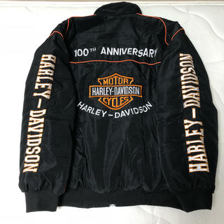 ハーレーダビッドソン(Harley Davidson)のハーレーダビッドソン100周年記念ジャケット(ライダースジャケット)