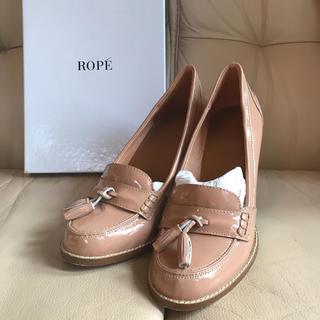 ロペ(ROPE)のROPE ベージュパンプス(ハイヒール/パンプス)