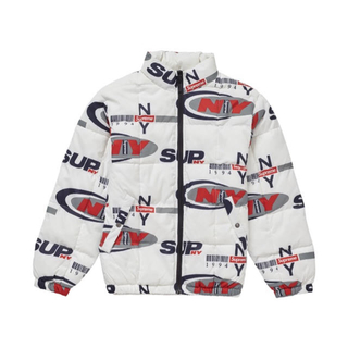 シュプリーム(Supreme)のSupreme NY Reversible Puffy Jacket Lサイズ(ダウンジャケット)