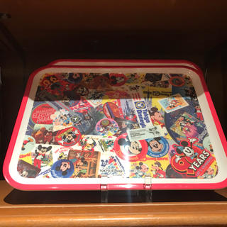 ディズニー(Disney)のディズニーリゾート ミッキー生誕90周年グッズ ミッキーマウス トレイ(食器)