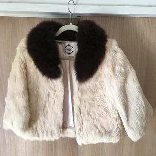デイジークレア(DazyClair)の毛皮のジャケット 結婚式 美品(毛皮/ファーコート)