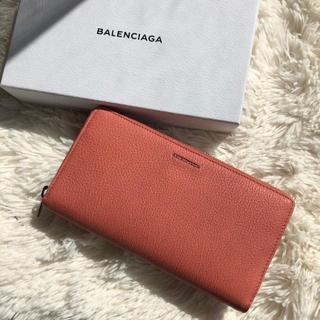 バレンシアガ(Balenciaga)の新品!バレンシアガ ESSENTIAL ラウンドジップ 長財布(財布)
