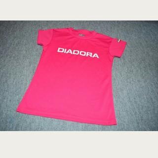 ディアドラ(DIADORA)の試着のみ ディアドラ レディース シャツ Mサイズ ヨガ トレーニング テニス(Tシャツ(半袖/袖なし))