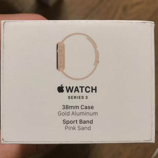 アップルウォッチ(Apple Watch)のApple Watch series3 GPS(腕時計(デジタル))
