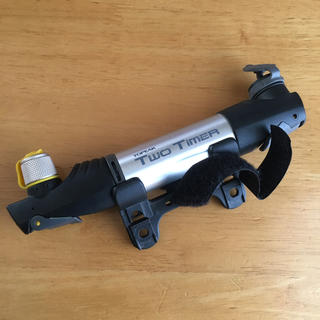 トピーク(TOPEAK)のTOPEAK two timer 携帯 空気入れ バイク用品(工具/メンテナンス)