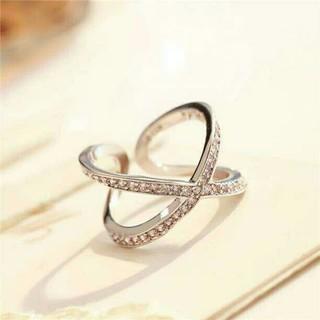 1 ⭐即日発送⭐ 編みデザイン 指輪 大人気デザインに リング フリー(リング(指輪))