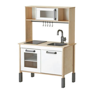 IKEA - 【確認画像】IKEA イケア キッチン バーチDUKTIG おままごとキッチン