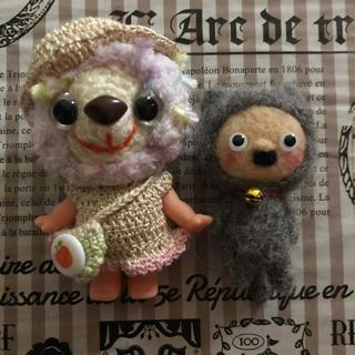 羊毛フェルト‼️ブライスにも‼️