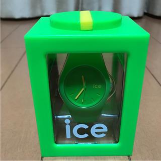 アイスウォッチ(ice watch)のice watch グリーン(腕時計(アナログ))