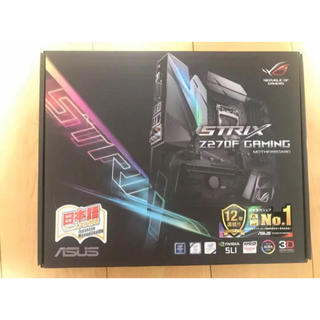 エイスース(ASUS)の【zua様専用】【新品未使用】Z270F GAMING【ATX】マザーボード(PCパーツ)