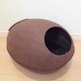 ペット ベッド ハウス 卵型 丸型 後ろ穴開きタイプ