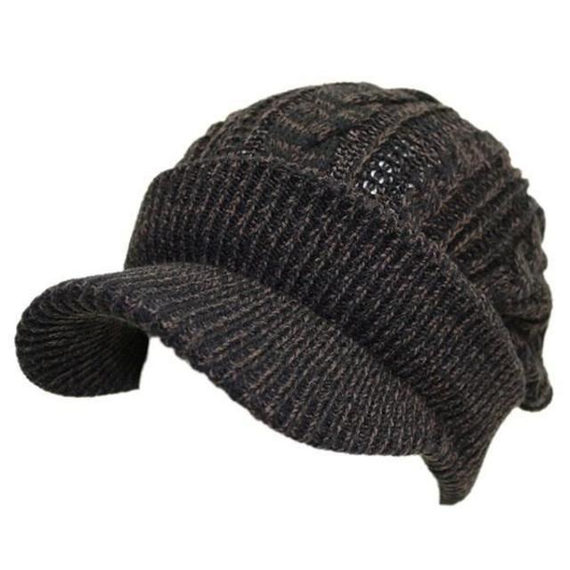 帽子 レディース メンズ キャスケット ツイストスリー ブラック&ブラウン スポーツ/アウトドアのゴルフ(その他)の商品写真