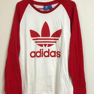 adidas - adidas♡アディダス♡ラグラン♡ロンT♡ロングTシャツ♡
