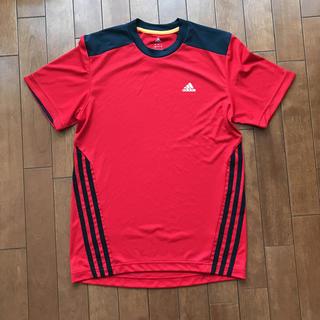 アディダス(adidas)の美品  サッカーTシャツ  adidas  climalite (ウェア)