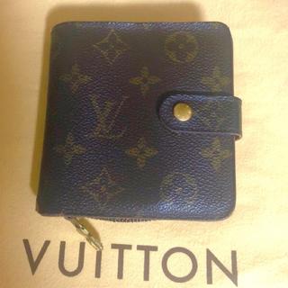 ルイヴィトン(LOUIS VUITTON)のジャンク ルイヴィトン 折り財布 ファスナー故障(折り財布)