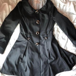 イートミー(EATME)の丸襟 フリル コート 即購入○(チェスターコート)