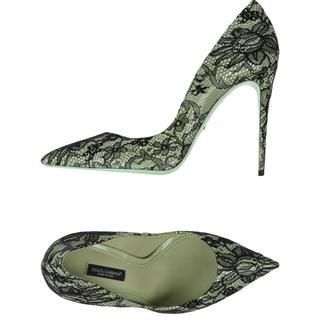 ドルチェアンドガッバーナ(DOLCE&GABBANA)の新品☆ Dolce & Gabbana レースパンプス(ハイヒール/パンプス)