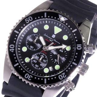 サルバトーレマーラ(Salvatore Marra)のサルバトーレマーラ 腕時計 メンズ 20気圧 防水 時計 ブラック 黒(腕時計(アナログ))