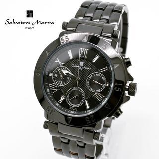 サルバトーレマーラ(Salvatore Marra)のサルバトーレマーラ 時計 メンズ ブラック 黒 人気 モデル ブランド(腕時計(アナログ))