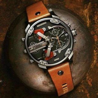 ディーゼル(DIESEL)の☆DIESEL ディーゼル多機能モデル☆ DZ7332 【箱保証書付き】(腕時計(アナログ))