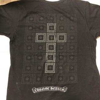 クロムハーツ(Chrome Hearts)のクロムハーツTシャツクロスシルバーCHROME HEARTSBSフレアデザイン(Tシャツ/カットソー(半袖/袖なし))