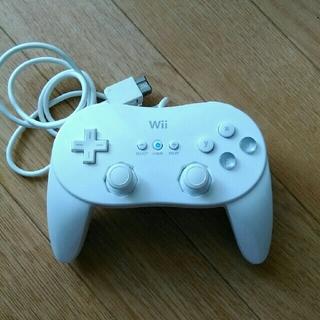 ウィー(Wii)のwii クラシックコントローラー(家庭用ゲーム本体)