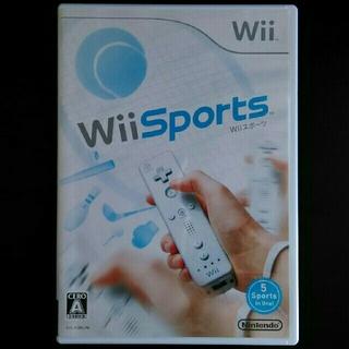 ウィー(Wii)のwii Sports wiiスポーツ(家庭用ゲームソフト)