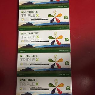 アムウェイ(Amway)の5個、入荷したばかりのアムウェイの新トリプルXレフィル  新品 。35900円(ビタミン)