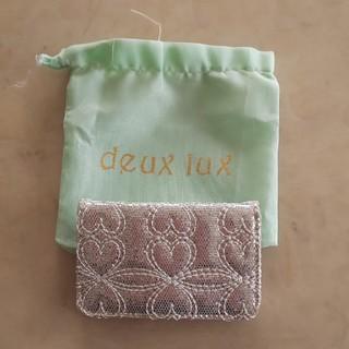 デュラックス(deux lux)のdeux lux  カードケース(その他)