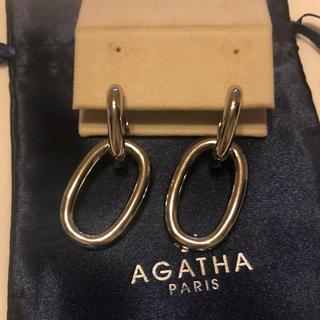 アガタ(AGATHA)のアガタパリ オーバル型ピアス(ピアス)