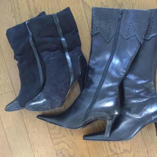 ザラ(ZARA)の本日大幅お値下 ブーツセット♡♡ ブラック(ブーツ)