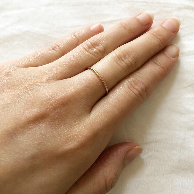 AURORA GRAN(オーロラグラン)のAURORA GRAN 10KYG 11号 レディースのアクセサリー(リング(指輪))の商品写真