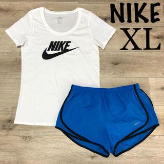 ナイキ(NIKE)のXL ナイキ レディース 上下セット 半袖 Tシャツ ランパン セットアップ(セット/コーデ)