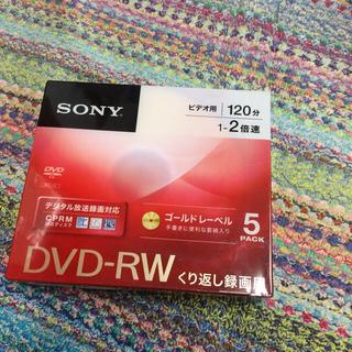 ソニー(SONY)のSONY   DVD-RW  5枚(その他)
