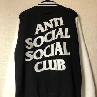 アンチ(ANTI)のanti social social club スタジャン Letterman(スタジャン)
