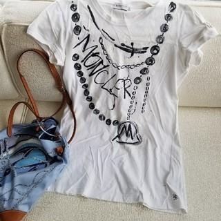 モンクレール(MONCLER)のモンクレール 半袖tシャツ カットソー サイズS(Tシャツ/カットソー(半袖/袖なし))