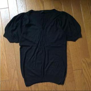 アパートバイローリーズ(apart by lowrys)のapart by lowrys パフスリーブニットTシャツ(Tシャツ(半袖/袖なし))