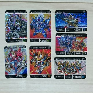 バンダイ(BANDAI)のレア!SDガンダム カードダスミニ キラ/ピカ7枚 とオマケ付き(カード)