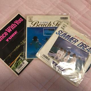 TUBE  レコード3枚(ミュージシャン)