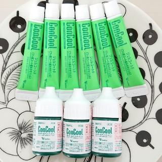 虫歯・歯周病に効果的 ジェルコートF×6 コンクールF×3 お試し トライアル(歯磨き粉)