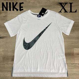 ナイキ(NIKE)のXL ナイキ 半袖白Tシャツ レディースTシャツ 半袖 白ウェア(Tシャツ(半袖/袖なし))