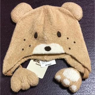 HOT BISCUITS - 帽子 ミキハウス 新品 未使用 ホットビスケッツ ビーンズ B級品