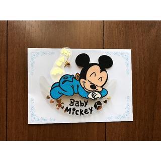 ディズニー(Disney)の実質218円です。Baby Mickey ミッキーマウス 出産祝いカード(その他)