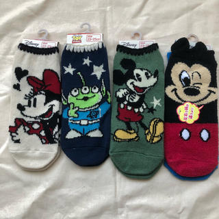 ディズニー(Disney)のディズニー  ソックス  4足組(ソックス)